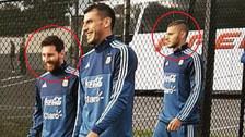 Así fue el primer encuentro de Messi e Icardi en la Selección Argentina
