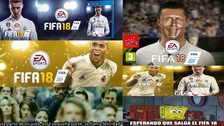 Cristiano Ronaldo protagoniza memes tras aparecer como portada del FIFA 18