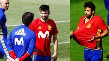 Hinchas españoles recibieron a Piqué con cánticos ofensivos sobre Real Madrid