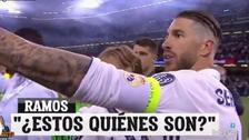 Sergio Ramos explotó con infiltrados en celebración del Real Madrid