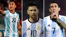 El posible equipo que presentará Sampaoli para enfrentar a Brasil
