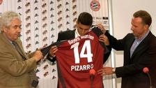 Bayern Munich recordó a Claudio Pizarro por el aniversario de su fichaje