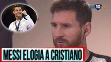Messi elogió a Cristiano Ronaldo: