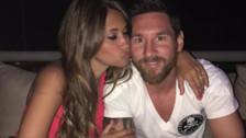 Lionel Messi pidió donaciones como regalo de bodas