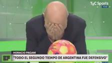 Periodista argentino criticó duramente el debut de Jorge Sampaoli