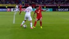 El regate de Isco para superar a un rival y darle pase gol a Diego Costa