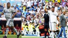 Ronaldo volvió a lucir su magia con la camiseta del Real Madrid