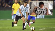 Paulo Dybala tuvo noble gesto con niño herido en estampida de Turín