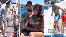 Lionel Messi disfruta de sus vacaciones en Ibiza al lado de su familia