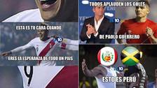 Paolo Guerrero en la mira de los memes del triunfo de Perú ante Jamaica
