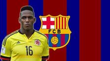 El acuerdo secreto para que Yerry Mina llegue el Barcelona