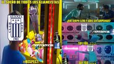 Alianza Lima goleó 4-0 a Ayacucho FC, pero no se salvó de los memes