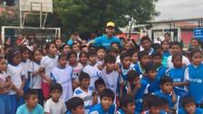 Así informó Real Madrid la visita de Sergio Ramos al Perú