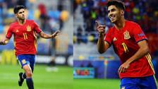 Marco Asensio se lució con un hat trick en la Eurocopa sub21