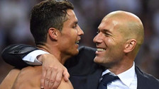 Lo que le dijo Zidane a Cristiano Ronaldo para que no abandone el Real Madrid