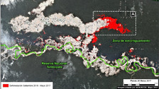 Perú: 550 hectáreas fueron deforestadas en la Reserva Nacional Tambopata desde setiembre del 2015