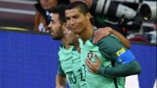 Cristiano Ronaldo anotó su primer gol en la Copa Confederaciones