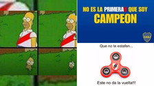 Los mejores memes que dejó el del título de Boca Juniors en Argentina