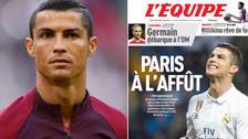 PSG ofrecerá menos de lo esperado por Cristiano Ronaldo debido a su edad