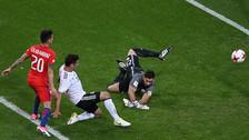 Alemania le anotó a Chile tras excelente combinación que culminó Stindl