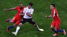 Chile y Alemania empataron en el mejor partido de la Copa Confederaciones