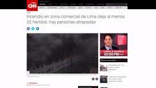 Así informaron los medios internacionales sobre el incendio en Las Malvinas