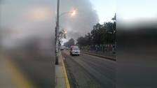 Ciudadanos reportaron que humo tóxico afecta su salud tras incendio
