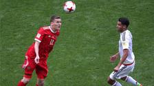 México avanza a las semifinales tras derrotar al anfitrión Rusia
