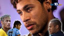 Neymar estrenó nuevo 'look': el antes y después a lo largo de su carrera