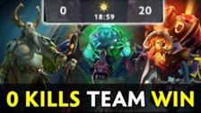 Dota 2 | Un equipo ganó una partida competitiva sin matar a ningún rival