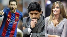 Maradona no está invitado al matrimonio de Messi y Antonella Roccuzzo