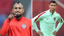 """Arturo Vidal disparó contra Cristiano: """"Es un engreído, no existe para mí"""""""