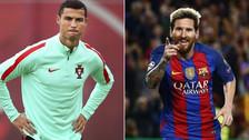 """A Cristiano Ronaldo le gritaron """"Messi, Messi"""" en la previa del duelo ante Chile"""