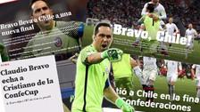 Así informó la prensa internacional tras la victoria de Chile ante Portugal