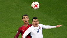 El gran salto de Gary Medel que sorprendió a Cristiano Ronaldo
