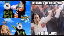 Los memes que dejó la goleada de Alemania sobre México