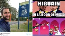 Los memes que dejó el matrimonio de Messi y Antonela Roccuzzo