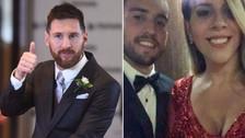Así fue el look de la hermana de Lionel Messi en el matrimonio