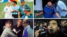 Los 10 escándalos más recordados de Diego Maradona
