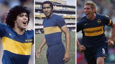 Julio Meléndez figura en el once histórico de Boca Juniors