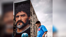 Los 10 grafitis dedicados a grandes futbolistas
