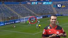 Video | Damiao se lució con un gol de taco en el triunfo de Flamengo
