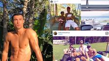 10 fotos de las lujosas vacaciones de Cristiano Ronaldo