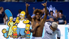 Yordy Reyna es comparado con personaje de los Simpsons por hinchas de su club