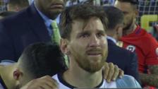 YouTube | Lionel Messi casi llora al recordar la final de Brasil 2014