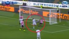 Lapadula al Genoa: revive el golazo de taco que marcó con el Milan