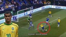 YouTube | Rivaldo cometió un 'blooper' al intentar una rabona en el Mundial de Leyendas