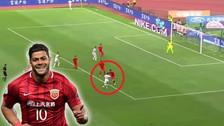 YouTube | Superliga China: Hulk anotó un golazo al ángulo con efecto
