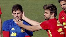 Iker Casillas fue troleado en Instagram por Gerard Piqué