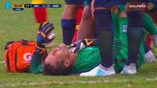 Video | La caída de Leao Butrón que le impidió seguir en el partido